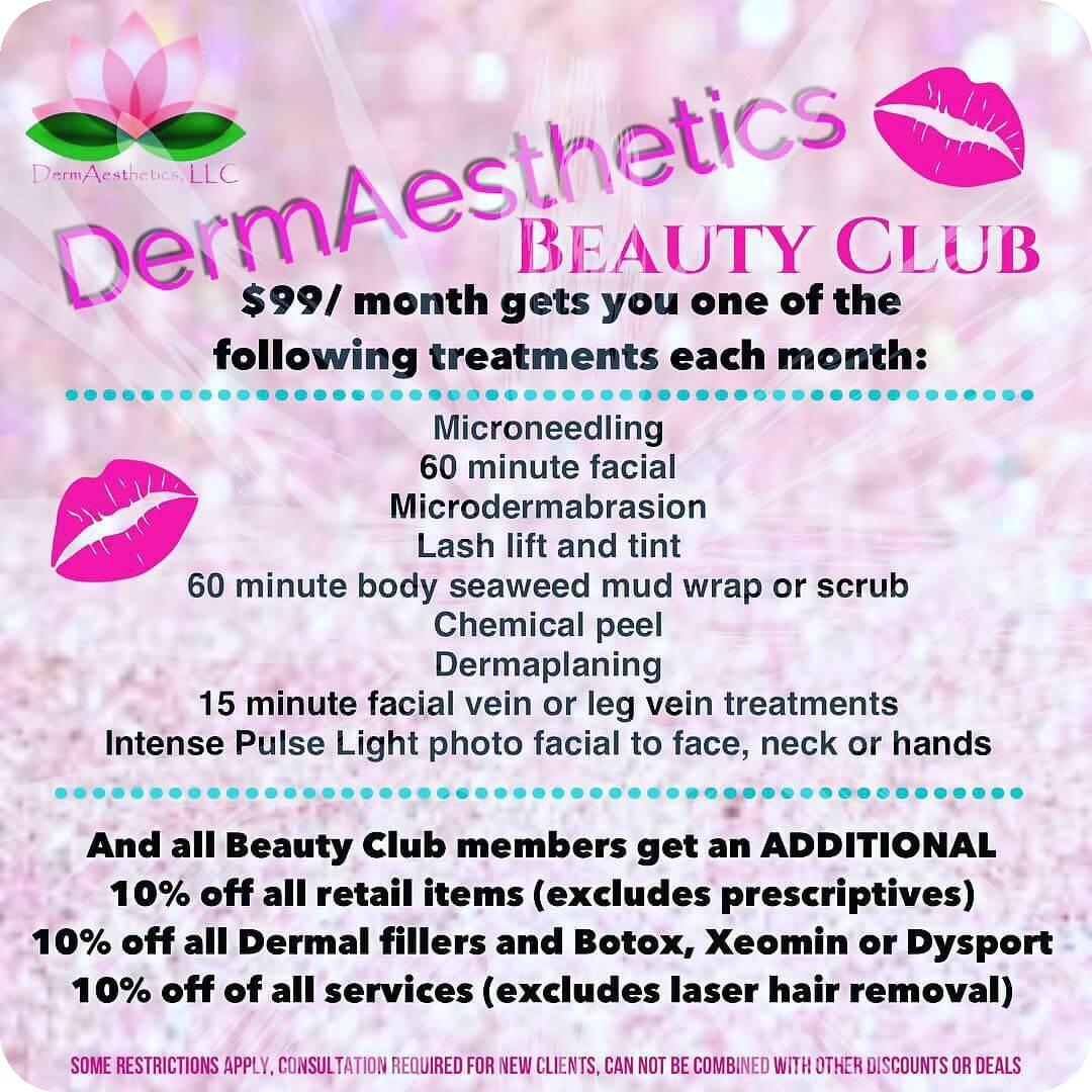 DermAesthetics Beauty Club